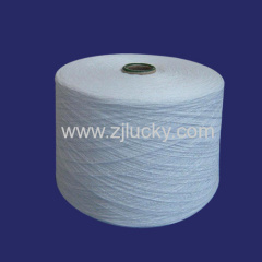 regenerated bleached Weaving Yarn
