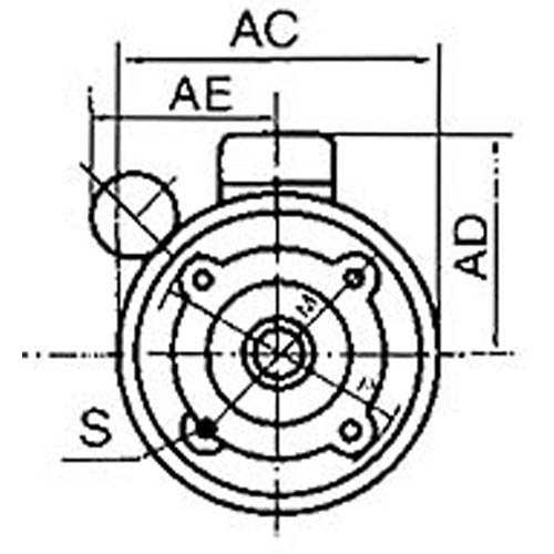 B14 Type Flange Mounting Form Manufacturer From China Fenghua Anling