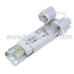 Electronic Super-thin Ballasts with mounted G23 lamp-holders