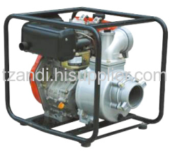 Powered diesel water pumps