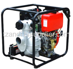 Powered diesel pump