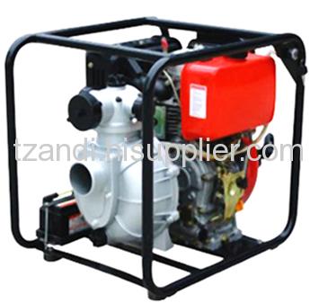 Powered diesel pump