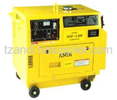 Diesel-oil powered generator