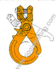 Clevis Safety Hook With Grip