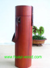 Cylindrical Wooden Wine Box