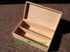 Wooden Wine Box For Double Bottle