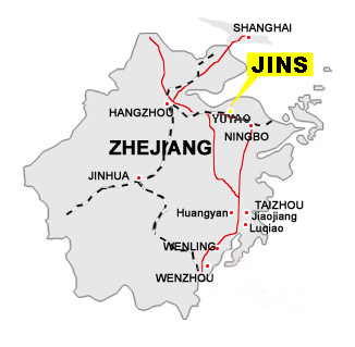 Jinshuai company Location