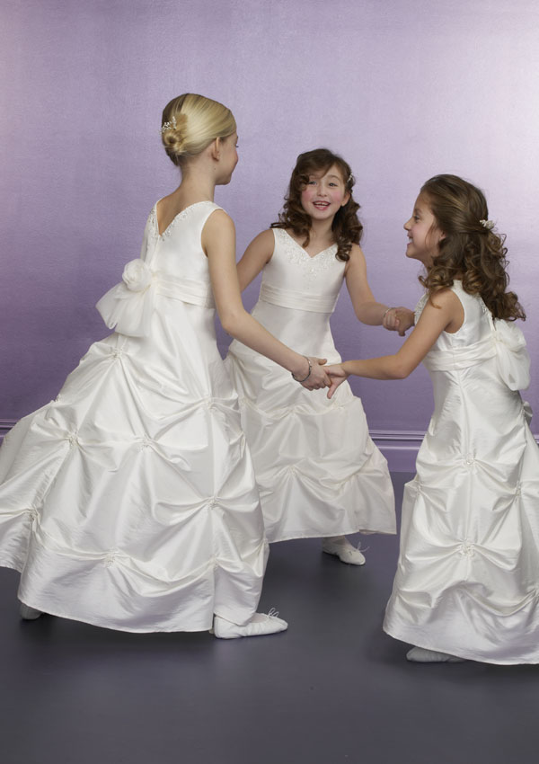 Flower Girl Dress-F15