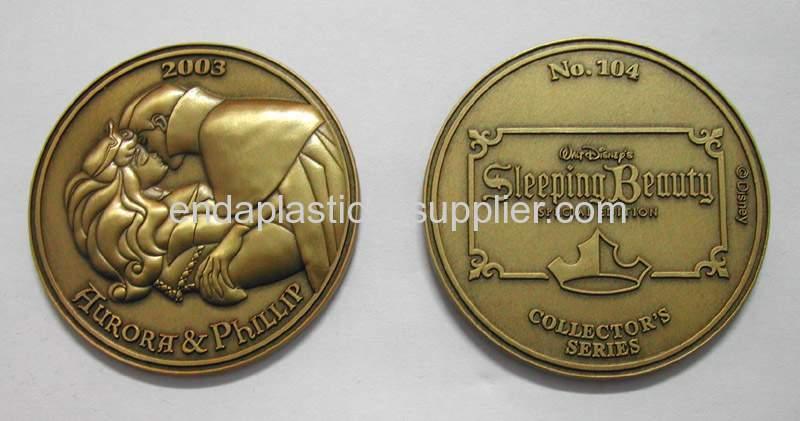 enamel coins