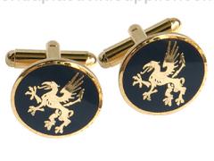 Brass Cuff Link