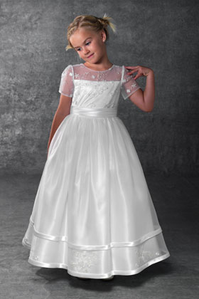 Royal Flower-Girl Dress