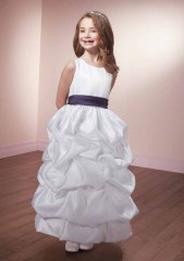Taffeta-Flower Girl Dresses