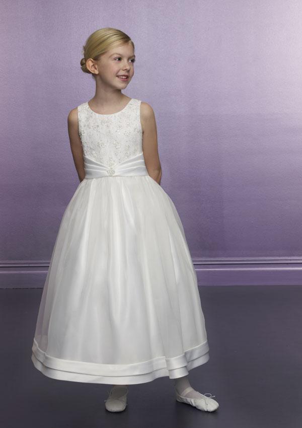 Classic Flower-Girls-Dress