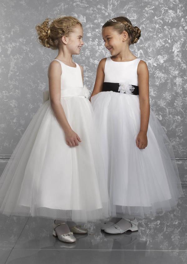 Designer Flower-Girls Dress