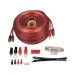 4 Gauge Car Audio Red Amp Kit