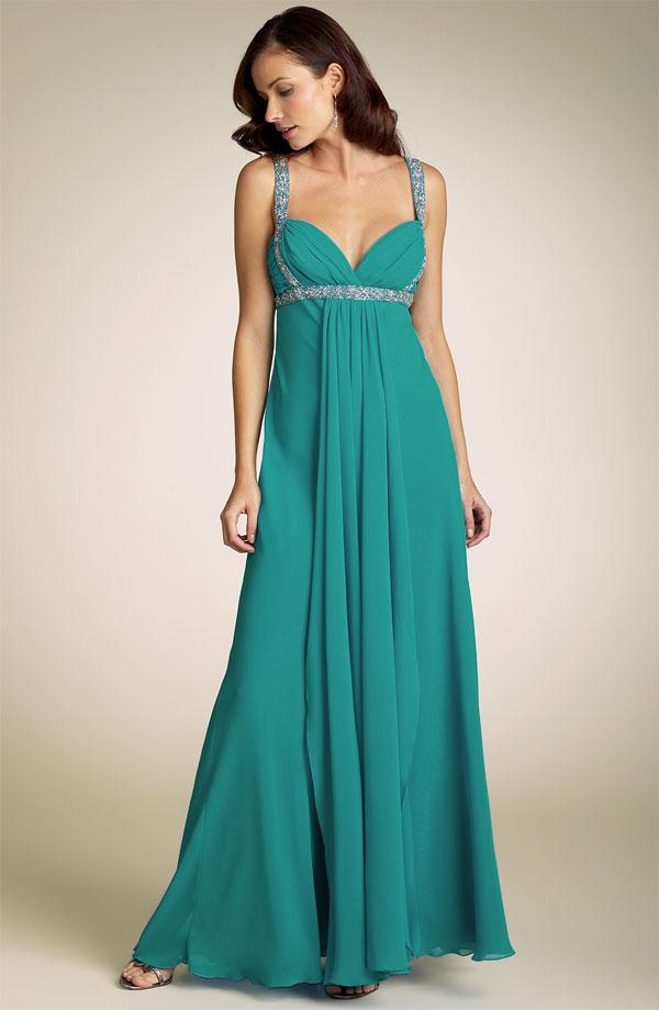 formal dress designs. deep v evening dress