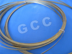 Metal Zipper Brass Wire