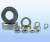 Thrust ball bearing with cover