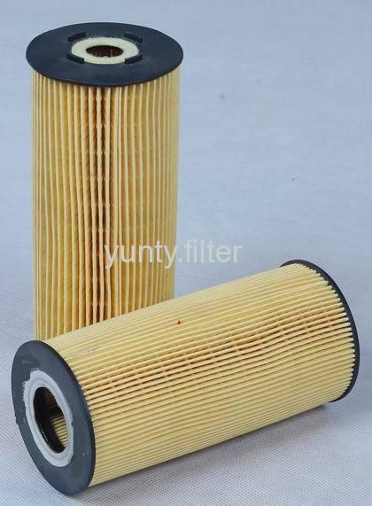 Elements for oil filter
