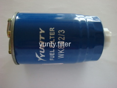 fuel filter for MANN FILTER