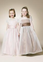 Royal-Designer Flower Girl Dress
