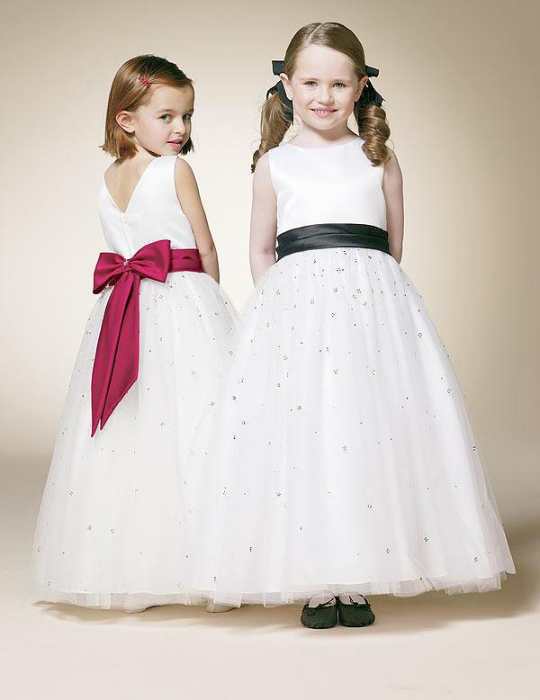 Designer Flower-Girl Dress