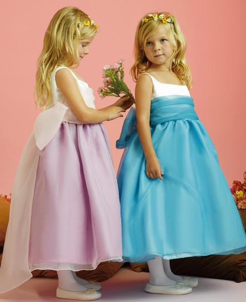 Organza-Flower Girl Dress