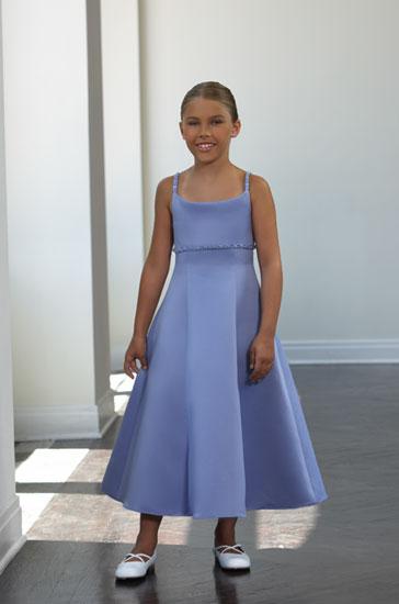Satin Flower Girl-Dresses