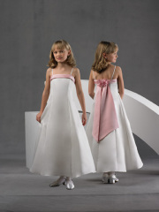 Satin-Flower-Girl-Dresses