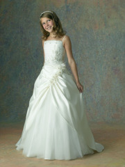 Classic-Designer Flower-Girl Dress