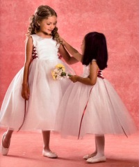 Organza-Flower Girl Dresses