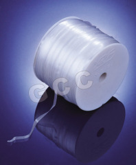 Clear elastic TPU tape