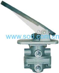 foot brake valve