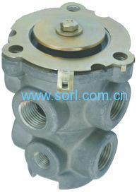 foot brake valve for truck