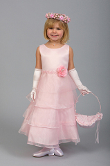 Organza Flower Girl-Dresses