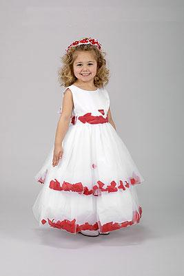 Organza Flower-Girl Dresses