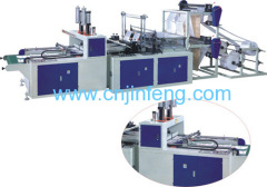 Automatic Double-layer Four-line Bag Making Machine