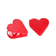 Heart shape pill box