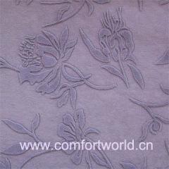 Flocking Cloth Decoration