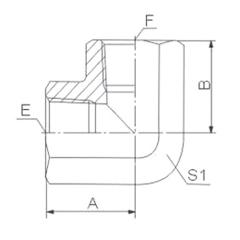 hydraulic hose adapter