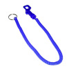 Plastic Spiral Cord Key Chain