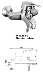 Bathtub Mixer Faucet