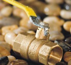 brass gas valves