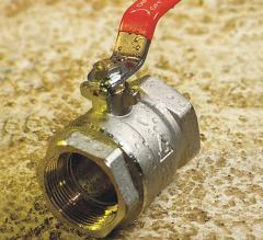 brass-ball valve