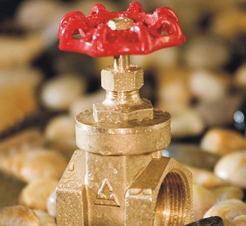 brass-stop valve