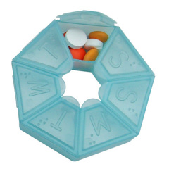 weekly pill box