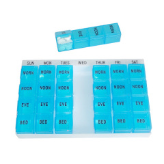 7 day pill organizer with tray