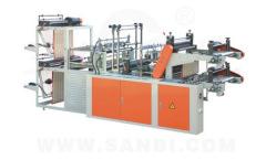 Plastic bag in roll making  machine