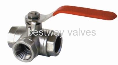 brass 3 way ball valves