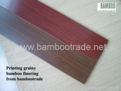 Wood Grainy Bamboo Flooring